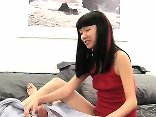 Lystra, with her spicy Korean pussy, wasn\'t shy. I stuck