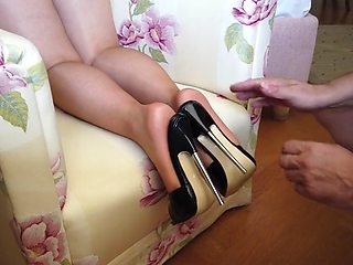 Feet in nylon video 42