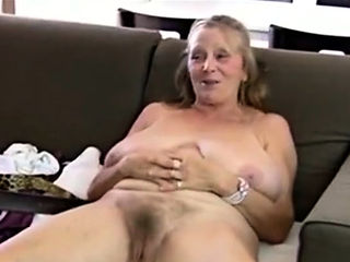 Hot mature striptease