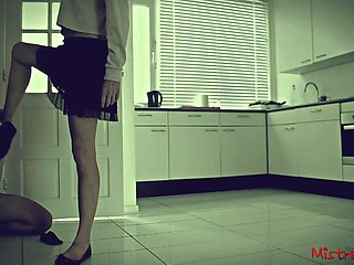 When your Mistress locks you in while she goes out (cuckold)