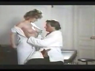Nurse milf with big tits getting ass rammed hard from behind