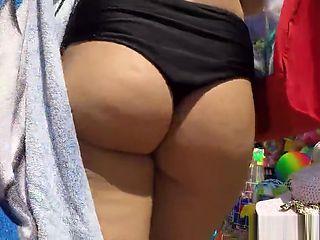 Bikini Ass Voyeur HD Video Spycam