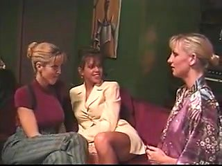 British mother I'd like to fuck Nici Sterling in another lesbian threesome