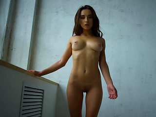 Brunette babe SofieQ teasing in this exclusive StasyQ video