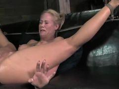 GERMAN MILF MOM CRYING BIG BLACK COCK HARD FUCKING