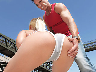 Briana Bounce  Marco Banderas in Working Out With Briana - MonsterCurves