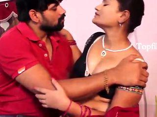 desimasala.co - Sashi aunty boob grab and seductive romance with neighbour