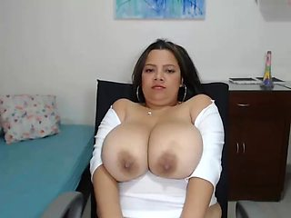 Latin and Ebony Milk Tits