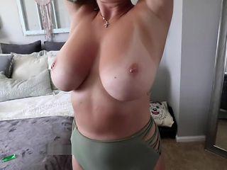 huge boobs at the pool & blowjob