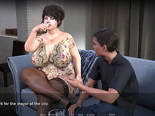 CURVY COUGARS STREET 1.4 - Sex with Barbara's mother