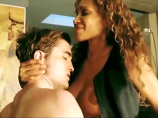 Patricia McKenzie Nude Boobs And Bush In Cosmopolis Movie