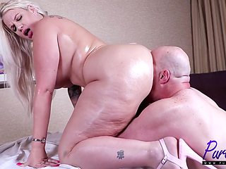 Pure-bbw Big Booty Sexual Massage With Lucky B