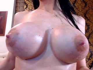 Luxury lactating tits