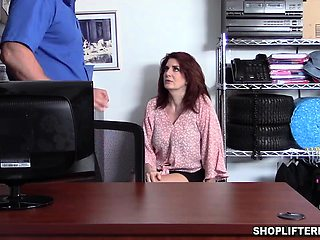 Bustylicious Andi James is a MILF shoplifter