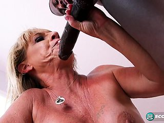 A big, black cock for Brandi's tight ass - 50PlusMilfs