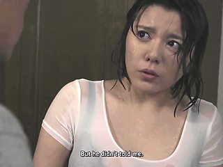 Eng Sub Jul-078 Heavy Rain Night Alone With Son's Wife - Yagami Saori And Saori Yagami