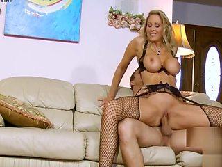Big-tits Busty Cougar Mom Julia Ann Needs Some Help