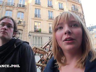 La France A Poil - Pretty Chubby Teen Stephanie, 18 Yo,