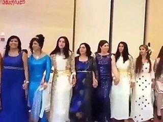 Beautiful dance of beautiful Kurdish women-Part II