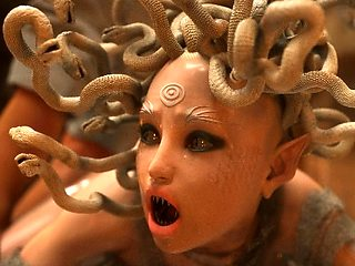 3D Female Creature Analed by a Human!