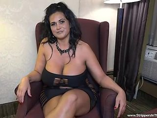 Strippers in the hoodxxx the gorgeous, vulptuos kailani kai returns for another bbc stripper