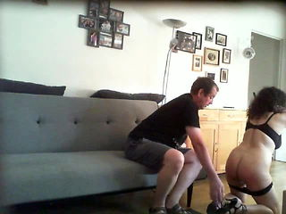 Spanking a cheating wife (part 1)