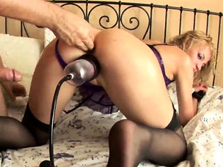 dirty blonde slut Sia fucked in every hole