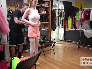 ample breasted teen Bunny Colby is changing her clothes