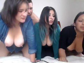 Amazing amateur Big Tits, Webcam adult video