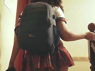 Desi Bhabhi College Girl Has Cosplay Sex in Hindi – Big Ass
