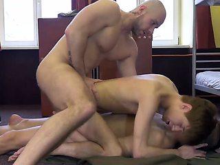 Double Penetrating Young Yuri Adamov