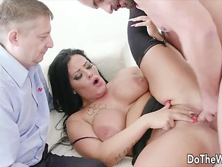 Do The Wife - Married MILFs Making Their Cuckolds Watch Compilation Part 1