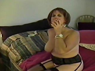 Pissed Off Smoking Mom