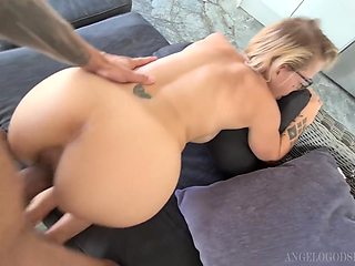 POV rough fucking with Loulou Petite