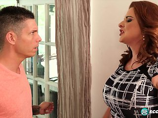 The super-busty MILF's first time - 40SomethingMag