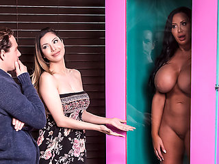 Sybil Stallone & Tyler Nixon in Free For All Fuck - BRAZZERS