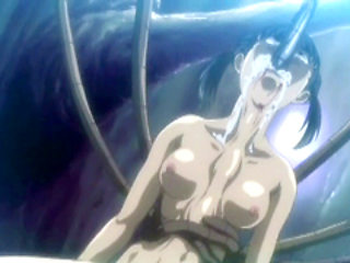 Hentai girls caught and brutally fucked by tentacles