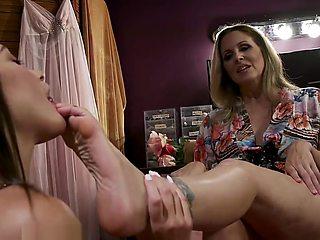 Footdom Milf soft soles