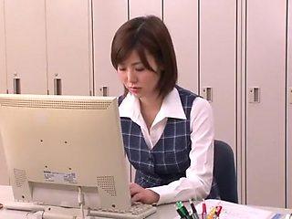 Crazy Japanese girl Nanako Mori in Horny Fetish, Secretary JAV movie