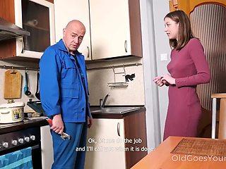 Dad step daughter