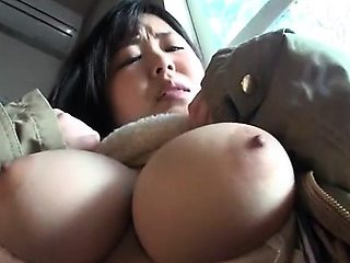 Busty Asian Woman With Shaved Pussy