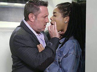 Ebony sophomore student Kira Noir has a crush on her old white teacher