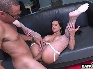 Monster cock vs big ass