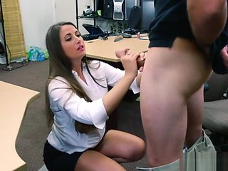 Rides white dick and american girl webcam big tits PawnShop Confession!