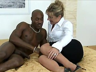 Brit milf black stud