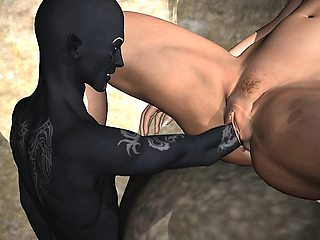 3D Elf Gets Fisted and Fucked