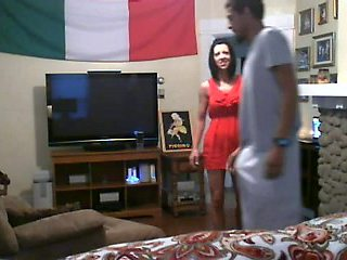 white milf cheats with a bbc on hidden webcam