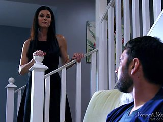 India Summer fucks her husbands dad