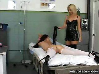 BDSM Hospital Spanking