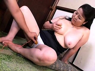 Curvy Japanese housewife is in need of a hardcore pounding